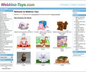 Webkinz Toys