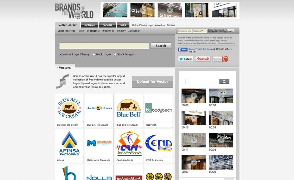 brands of the world website