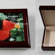 custom printed tile with jewelry box