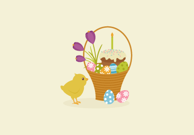 How to Create an Easter Basket Illustration in Adobe Illustrator
