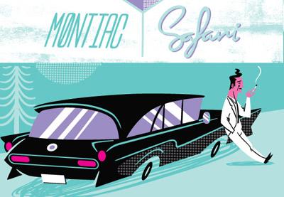 Create a Vintage, 50s Style Auto Advertisement