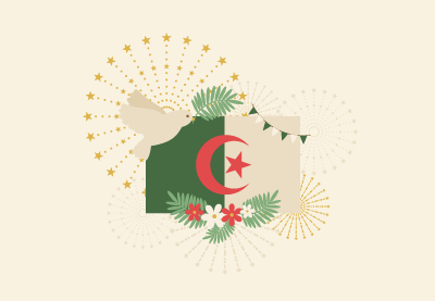 How to Create an Algerian Independence Day Illustration in Adobe Illustrator