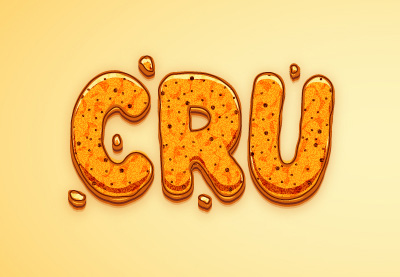 How to Create a Crunchy Cartoon Text Effect in Adobe Illustrator