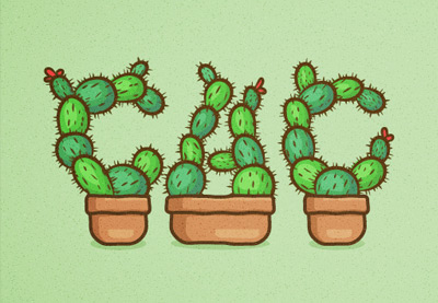 How to Create a Cactus Text Effect in Adobe Illustrator