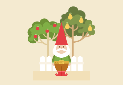 How to Create a Garden Gnome Illustration in Adobe Illustrator