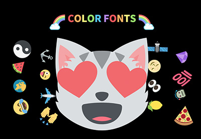 What Are Color Fonts?